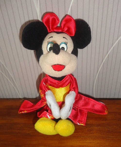 Peluche Disney Minnie Mouse Geisha McDonald 2000