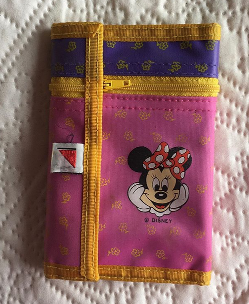 Porte feuille enfant Minnie Mouse Disney