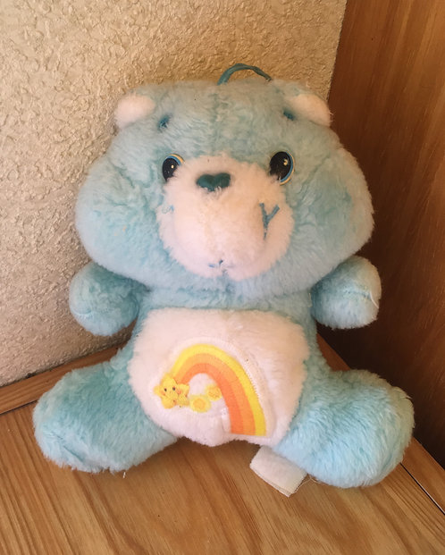 Bébé Bisounours Carebears. Grostaquin / Wish Bear. Vintage