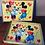 Thumbnail: Puzzle vintage 20 pièces Minnie & Michey Mouse