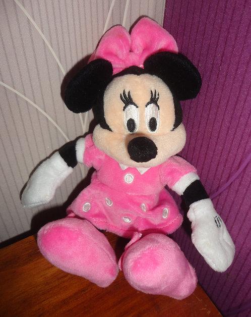 Petite peluche Disney Minnie Mouse .