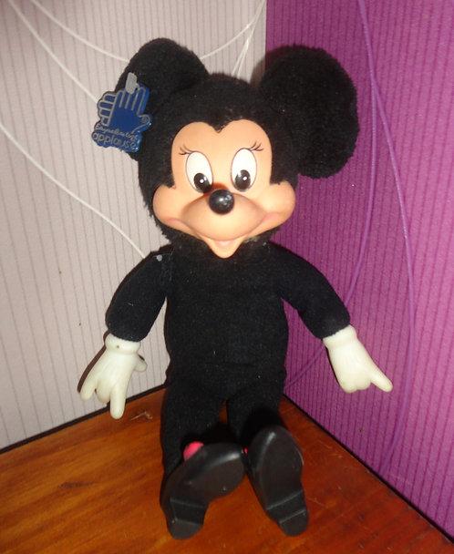 Figurine Peluche Disney Minnie Mousse Applause Vintage .