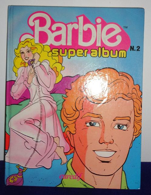 Livre Barbie Numéro 2 Super Album Vintage