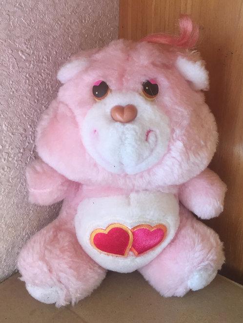 Bébé Bisounours Carebears. Groschéri / Love-A-Lot Bear. Vintage