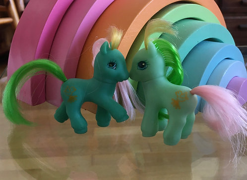 Mon petit poney My little pony G2 Drifter and Dreamer Vive la Vie Vive le Vent