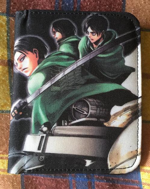 Porte-feuille Manga L'attaque des titans. Pika