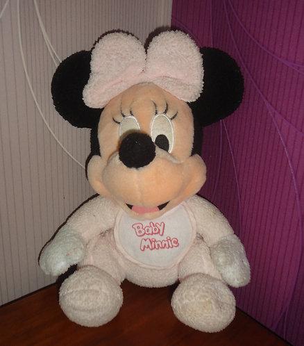 Peluche Bébé Disney Minnie Mouse Disneyland Paris .