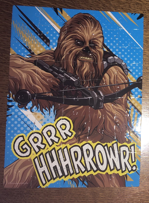 Puzzle Star Wars Chewbacca 50 pièces .