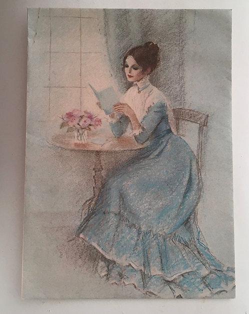 Papier à lettres vintage, Nancy . 10 feuilles & 10 enveloppes .