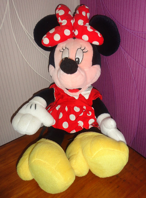 Peluche Disney Minnie Mouse . Mickey for kids .