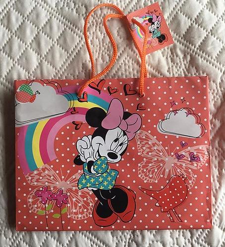 Sac cadeaux Minnie Mouse neuf .