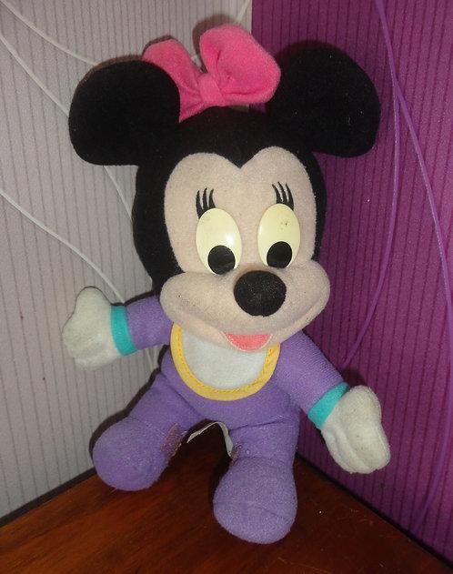 Petite peluche bébé Minnie Mouse .