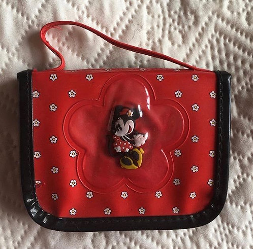 Porte feuille Minnie Mouse Disney Disneyland Paris .