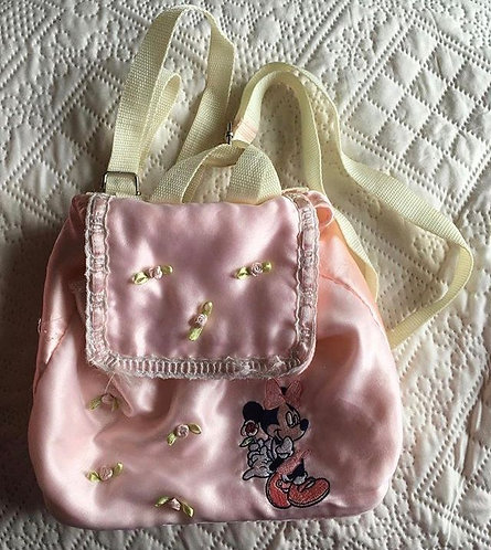 Petit sac à dos en satin Minnie Mouse