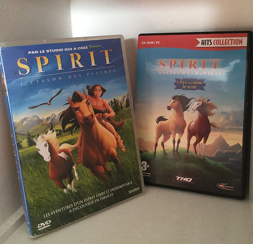 Spirit, l'étalon des plaines DVD & jeu CD - ROM PC Hits collection