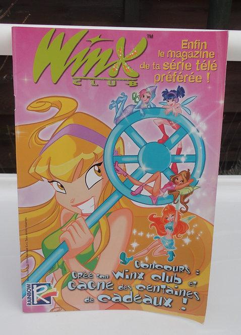 Winx Club BD magasine