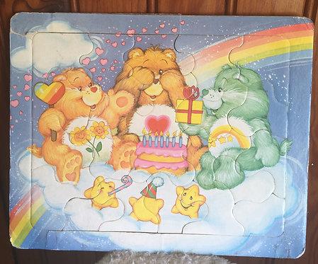 Joli puzzle bisounours Carebears vintage