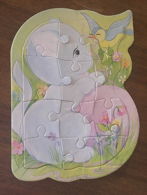 Puzzle carton enfant .