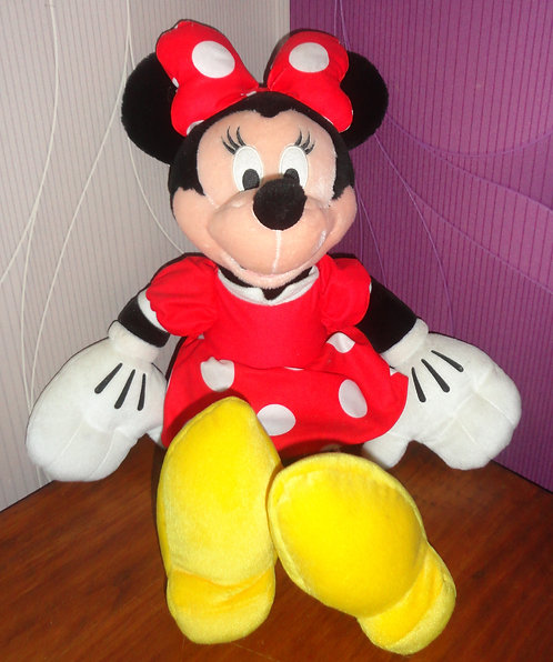 Grande peluche Disney Minnie Mouse .