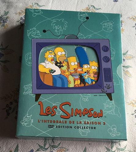 Les Simpson Intégrale de la saison 2 Édition Collector