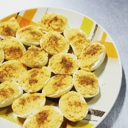 Deviled Eggs, Nutmeg