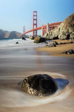 Rock by Golden Gate Bridge