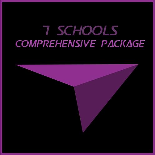 7 Schools Comprehensive Package