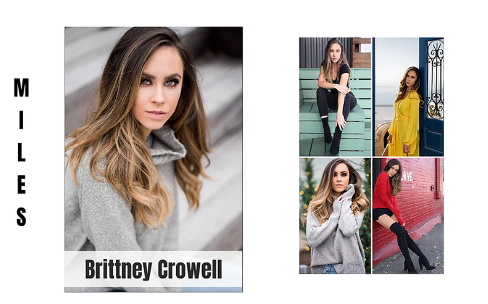 Brittney Crowell, Miles Models