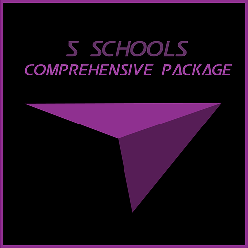 5 Schools Comprehensive Package