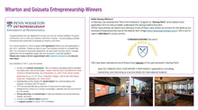 GoFurther Careers incubated at Penn Wharton and Emory Goizueta
