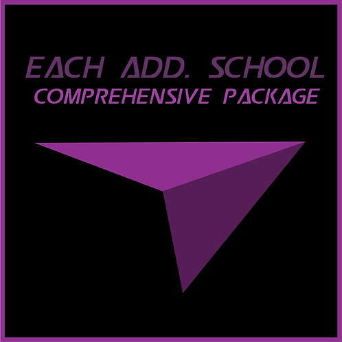 Each Add. School After 10 Comprehensive Package