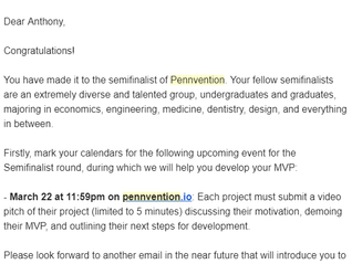 GoFurther Careers Makes it to the Semi-Final and Final Rounds of Wharton's Pennvention and SVA E