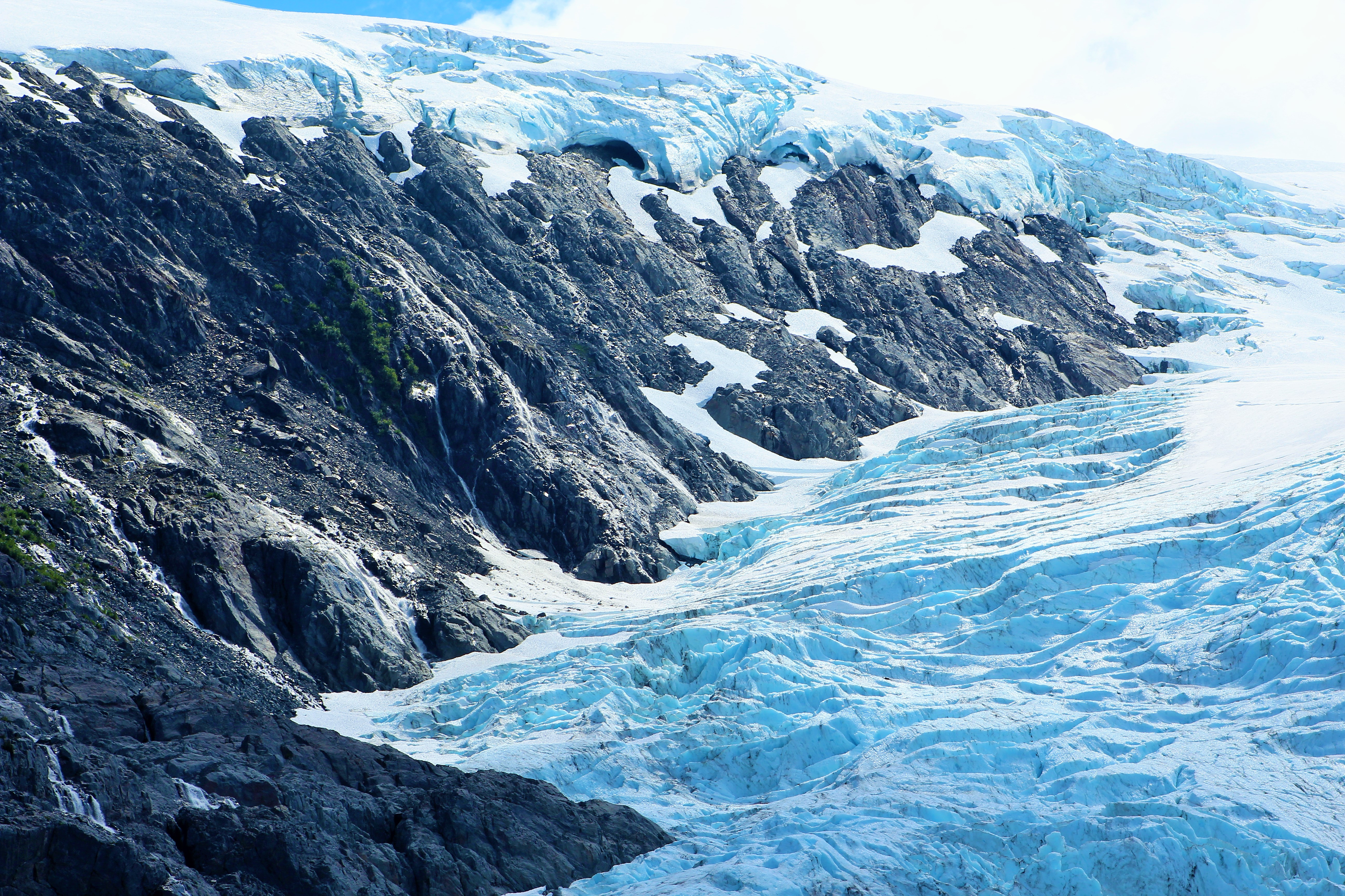 Glacier at Prince William Sound