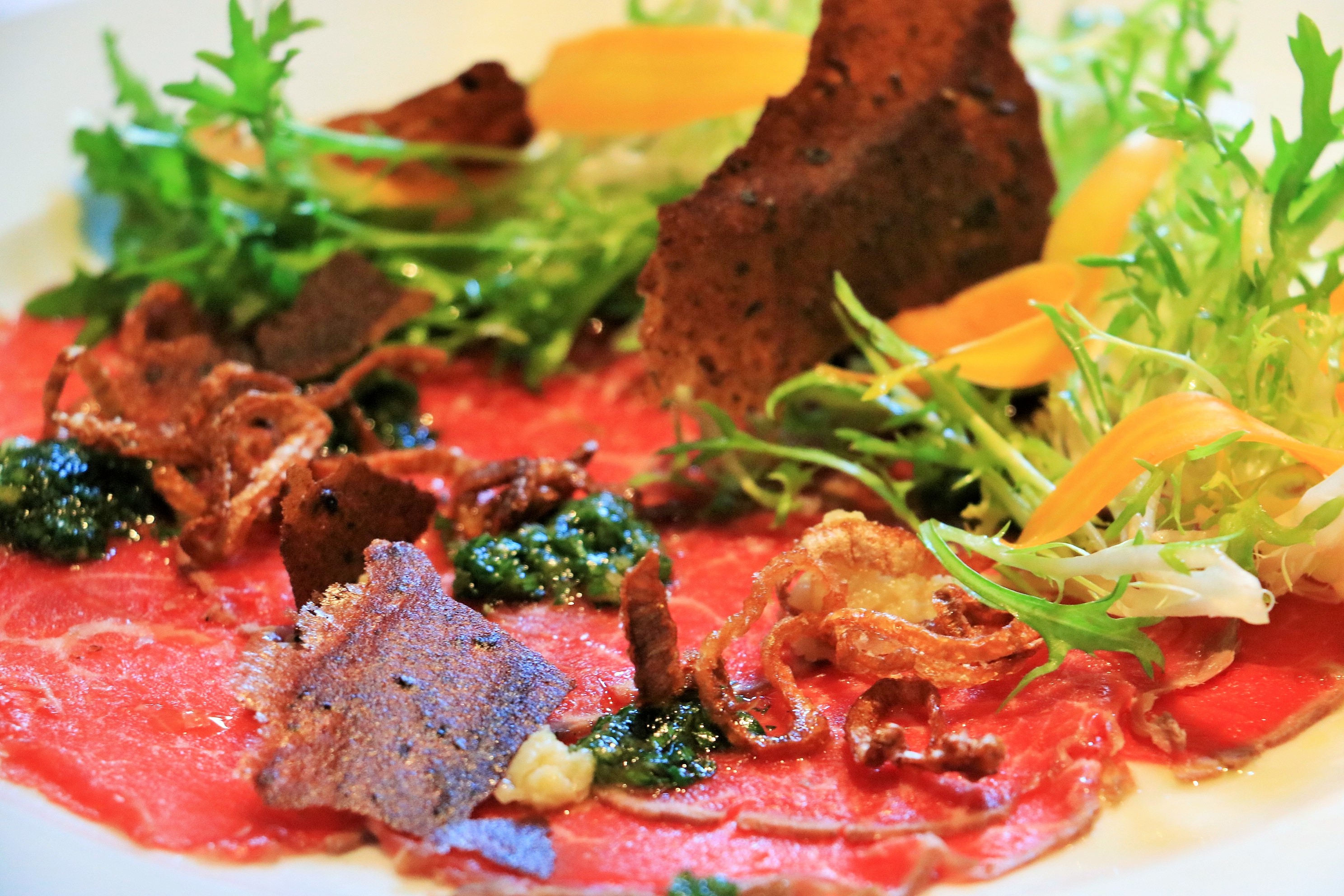 Beef Carpaccio at Spruce