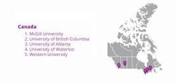 Canada Client Distribution