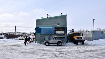 Station d'eau potable à Kuujjuaq