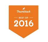 Thumbtack Best of 2016 badge