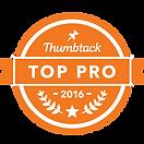 Thumbtack Pro Badge