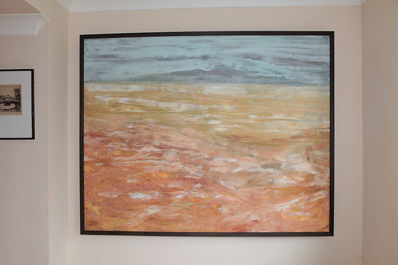 'Isle of Arran' Framed oil on canvas by Alistair Bamforth