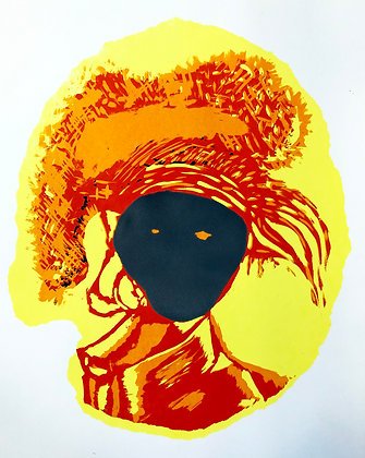 'Untitled' Screen prints series by Siu Patterson