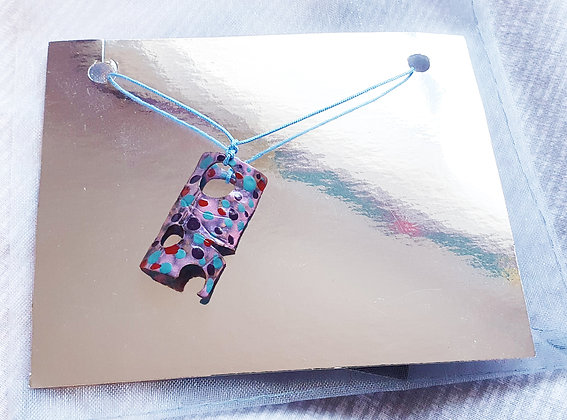 'Dotted Boat' Necklace by Aqsa Arif