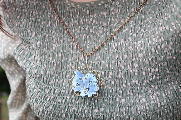 'Fuzzy Memory' scented necklace by Kim Tiong