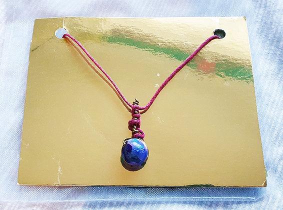 'Earth Baton' Necklace by Aqsa Arif