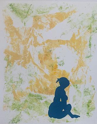 Monotype print series by Siusan Patterson