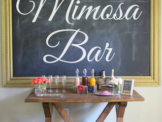 Don't forget to include these items in your Spring wedding food bar!