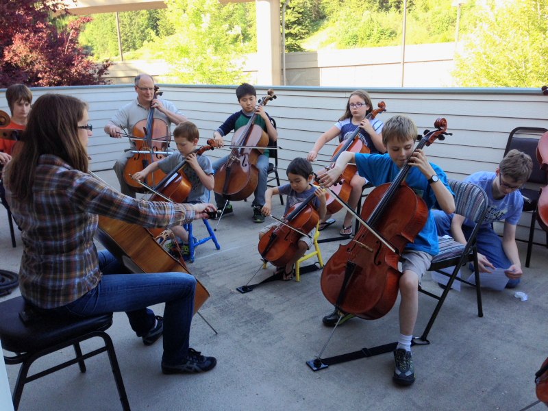 Cello group lessons