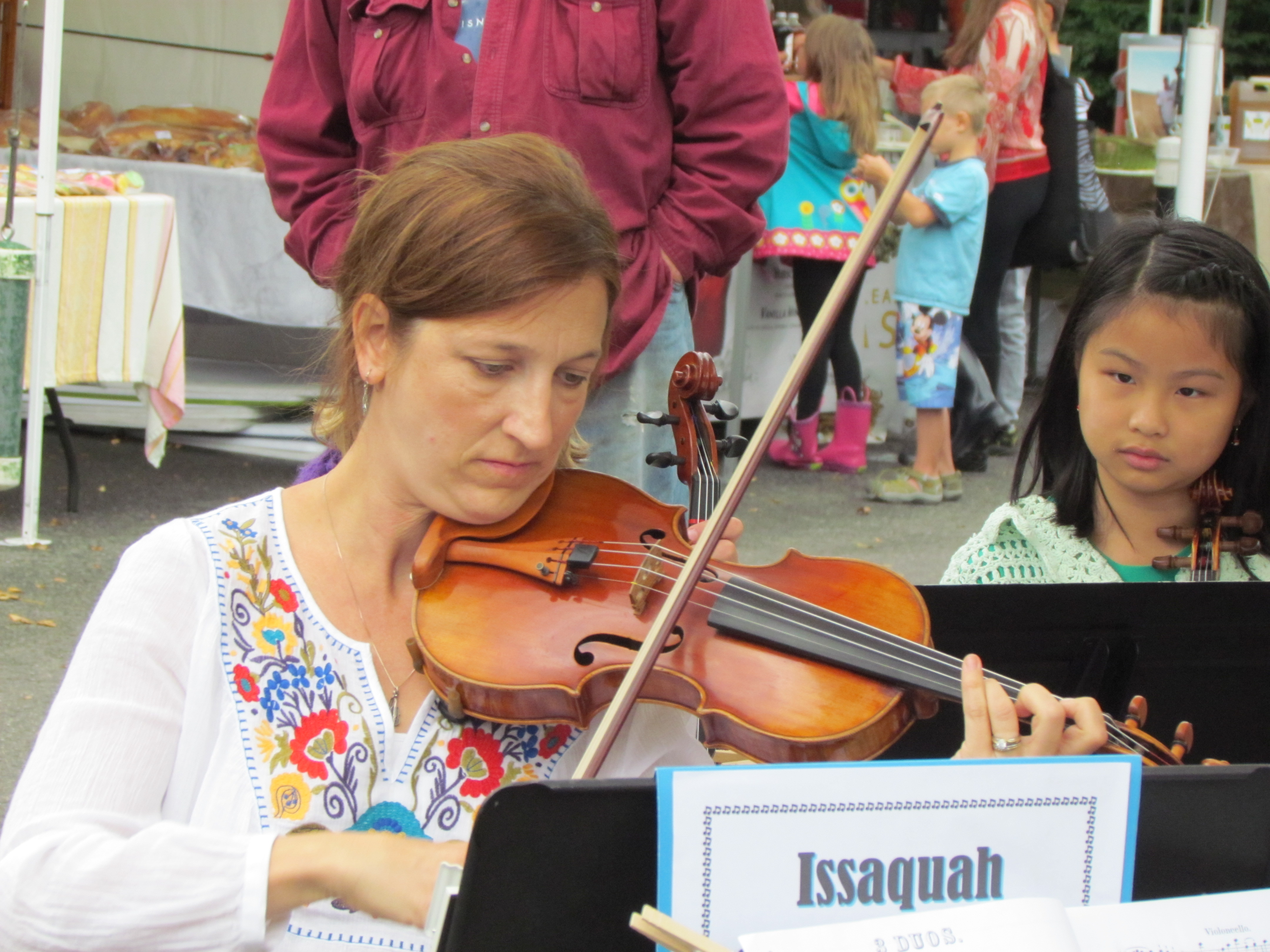 Violin faculty Jenny McCrorey
