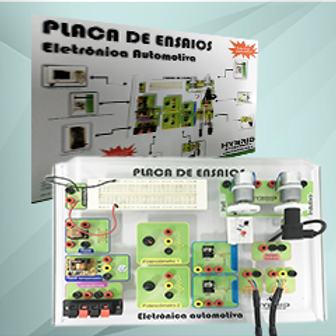 Kit de ensaio eletronico