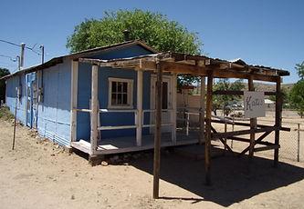 Two tiny shops, Cyanide Springs, Chloride, Arizona