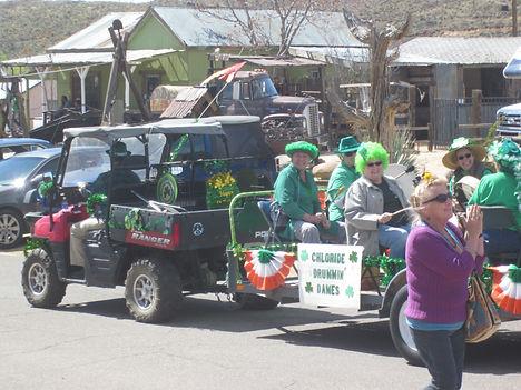 Chloride's St. Patrick's Day Celebration and Parade